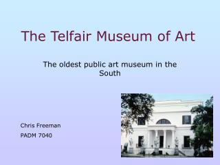 The Telfair Museum of Art
