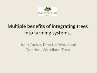 Multiple benefits of integrating trees into farming systems.
