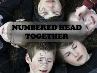 NUMBERED HEAD TOGETHER