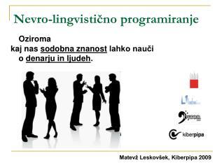 Nevro-lingvisti?no programiranje