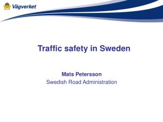 Traffic safety in Sweden
