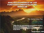 Taller Uso de instrumentos econ micos verdes y de financiamiento en el desarrollo e implementaci n de pol ticas ambienta