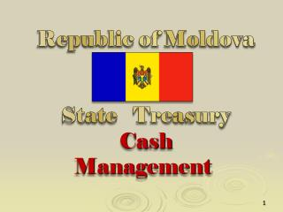 Republic of Moldova   State   Treasury  Cash Management