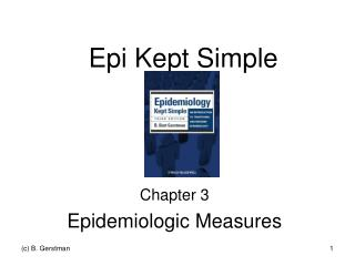 Epi Kept Simple