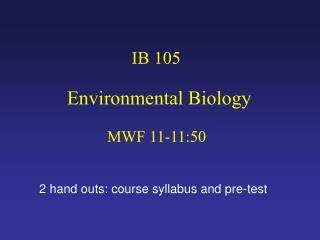 IB 105