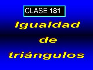 CLASE 181