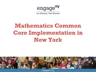 Mathematics Common Core Implementation in New York