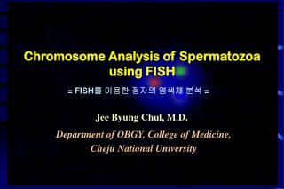Chromosome Analysis of Spermatozoa using FISH