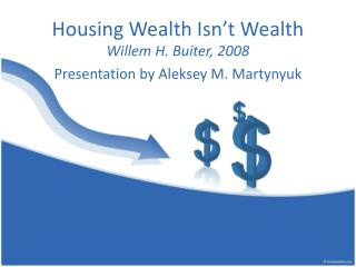 Housing Wealth Isn't Wealth