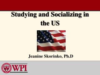 Studying and Socializing in the US