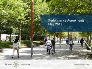 Performance Agreements  May 2012