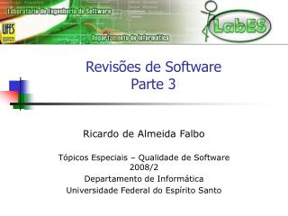 Revisões de Software Parte 3