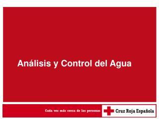 Análisis y Control del Agua