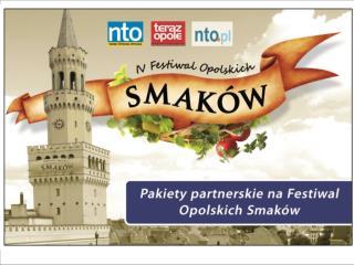 Pakiety partnerskie na Festiwal opolskich smaków