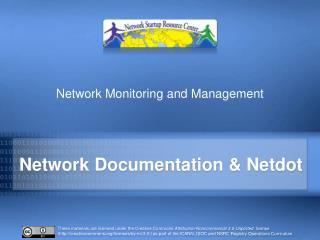 Network Documentation &  Netdot