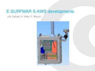 E-SURFMAR S-AWS developments