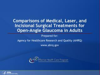 Prepared for: Agency for Healthcare Research and Quality (AHRQ) ahrq