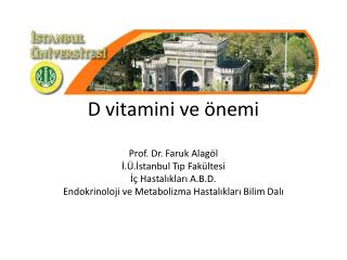 D vitamini ve �nemi
