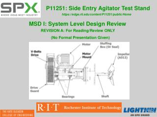 P11251: Side Entry Agitator Test Stand