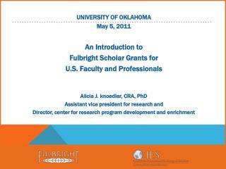 OU Fulbright Campus Representatives