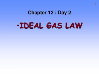 Chapter 12 : Day 2