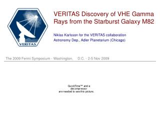 VERITAS Discovery of VHE Gamma Rays from the Starburst Galaxy M82