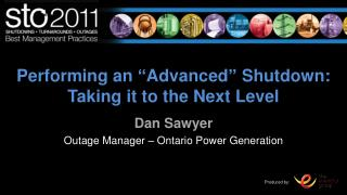 """Performing an  """" Advanced """"  Shutdown: Taking it to the Next Level"""