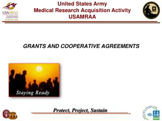 GRANTS AND COOPERATIVE AGREEMENTS