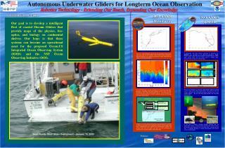 Autonomous Underwater Gliders for Longterm Ocean Observation