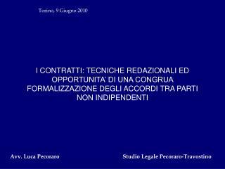 Torino, 9 Giugno 2010