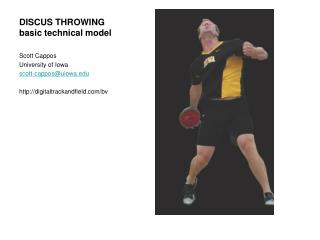 DISCUS THROWING basic technical model