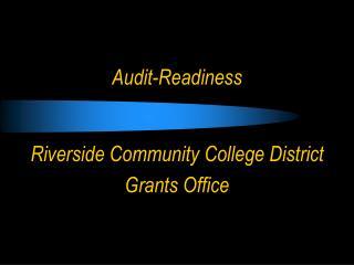 Audit-Readiness