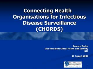 Connecting Health Organisations for Infectious Disease Surveillance (CHORDS)