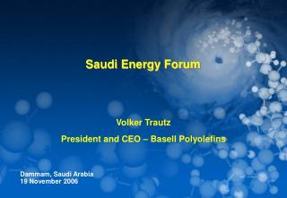 Saudi Energy Forum