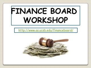FINANCE BOARD  PROTOCOL