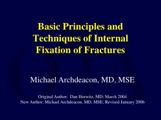 principles of external fixation pdf