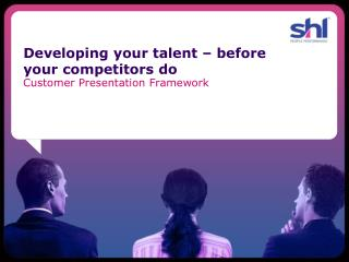 Developing your talent – before your competitors do