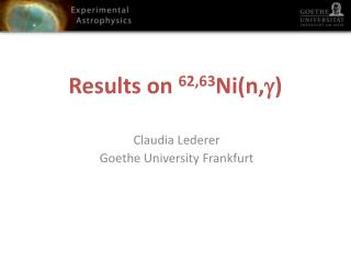 Results on  62,63 Ni(n,  )