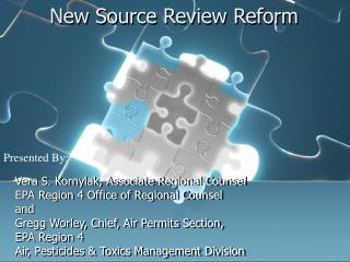 New Source Review Reform