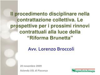 Avv. Lorenzo Broccoli