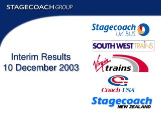 Interim Results 10 December 2003