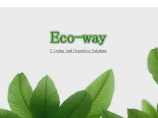 Eco Friendly Organic Home cleaning Services in New Jersey