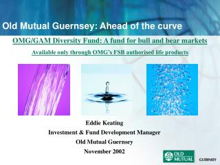 Eddie Keating Investment & Fund Development Manager Old Mutual Guernsey November 2002