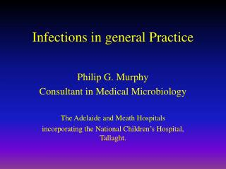 Infections in general Practice