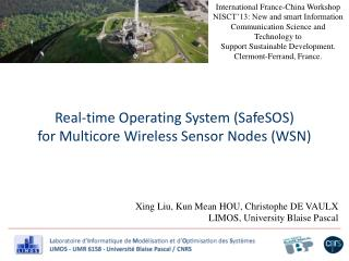 Real-time Operating System (SafeSOS) for Multicore Wireless Sensor Nodes (WSN)