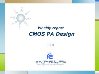 Weekly report CMOS PA Design