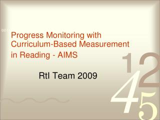 RtI Team 2009