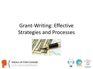 Grant-Writing: Effective Strategies and Processes