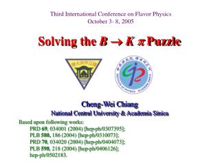 Solving the  B   K    Puzzle