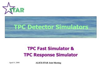TPC Simulators